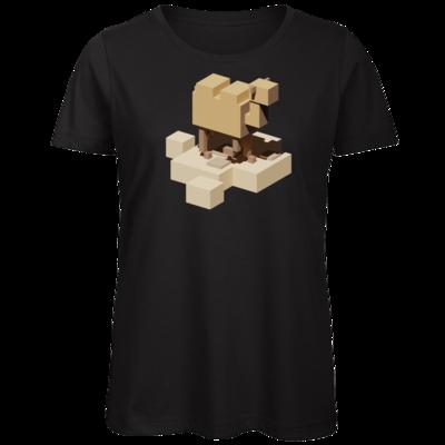 Motiv: Organic Lady T-Shirt - Unrailed Camel