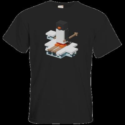 Motiv: T-Shirt Premium FAIR WEAR - Unrailed Penguin