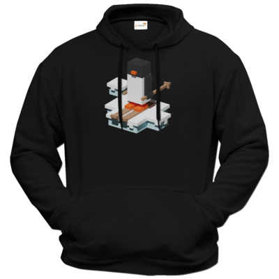 Motiv: Hoodie Premium FAIR WEAR - Unrailed Penguin