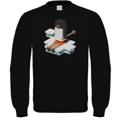 Motiv: Sweatshirt FAIR WEAR - Unrailed Penguin