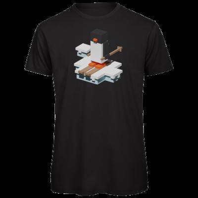 Motiv: Organic T-Shirt - Unrailed Penguin
