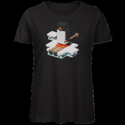 Motiv: Organic Lady T-Shirt - Unrailed Penguin