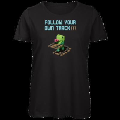 Motiv: Organic Lady T-Shirt - Unrailed Frog