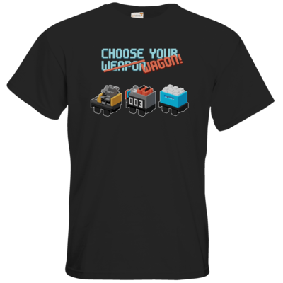 Motiv: T-Shirt Premium FAIR WEAR - Unrailes choose your wagon