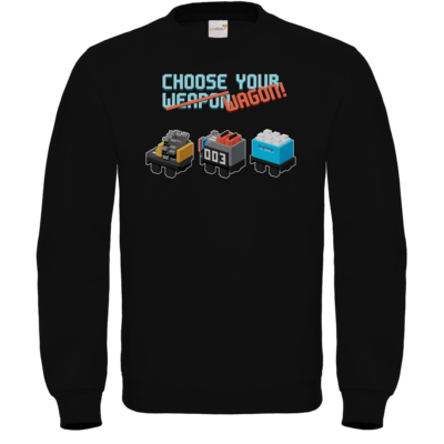 Motiv: Sweatshirt FAIR WEAR - Unrailes choose your wagon