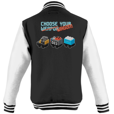 Motiv: College Jacke - Unrailes choose your wagon