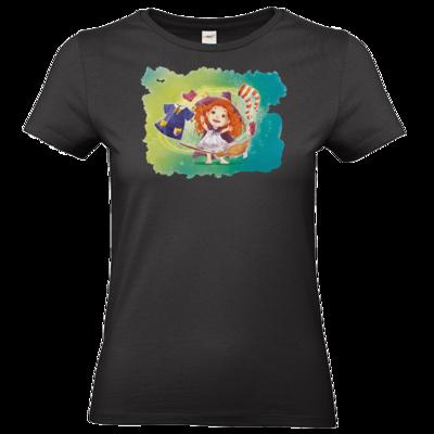 Motiv: T-Shirt Damen Premium FAIR WEAR - Kinderspiele - Mary Magica