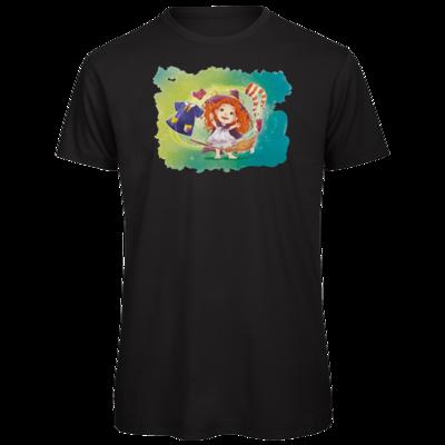 Motiv: Organic T-Shirt - Kinderspiele - Mary Magica