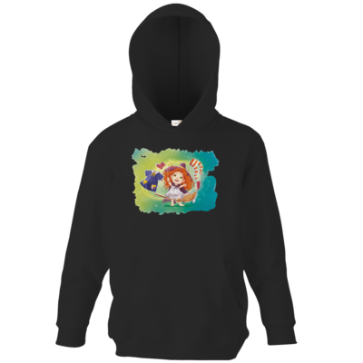 Motiv: Kids Hooded Sweat - Kinderspiele - Mary Magica