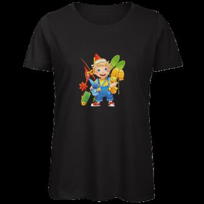 Motiv: Organic Lady T-Shirt - Kinderspiele - Timmy