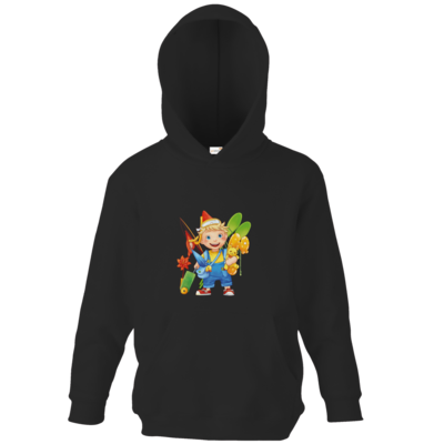 Motiv: Kids Hooded Sweat - Kinderspiele - Timmy