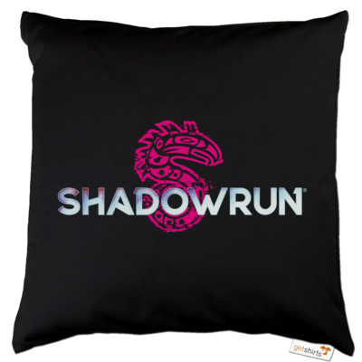 Motiv: Kissen Baumwolle - Shadowrun (r) Logo