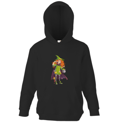 Motiv: Kids Hooded Sweat - Kinderspiele - Zauberei hoch 3