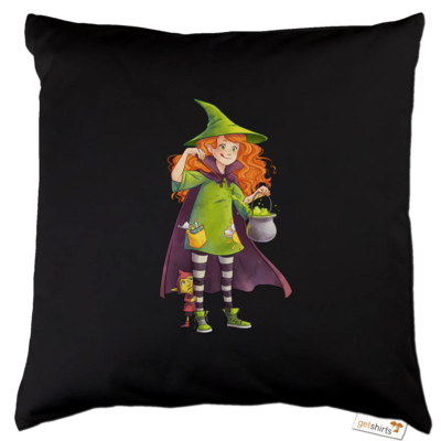 Motiv: Kissen Baumwolle - Kinderspiele - Zauberei hoch 3