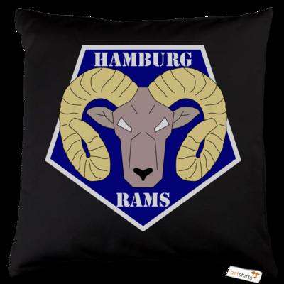 Motiv: Kissen Baumwolle - Shadowrun (r) - Hamburg Rams