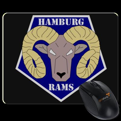Motiv: Mousepad Textil - Shadowrun - Hamburg Rams
