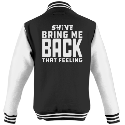 Motiv: College Jacke - Bring me back that feeling