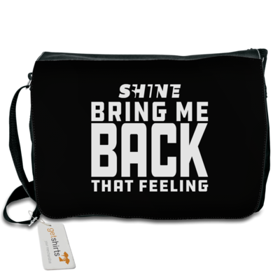 Motiv: Schultertasche - Bring me back that feeling