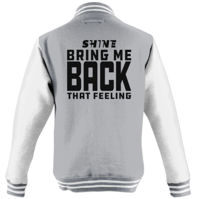 Motiv: College Jacke - Bring me back that feeling