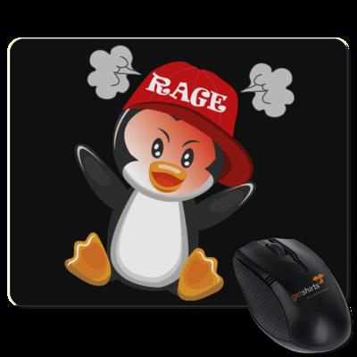 Motiv: Mousepad Textil - Rage Pingu