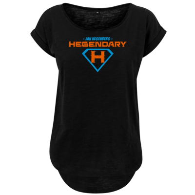 Motiv: Ladies Long Slub Tee - Hegendary