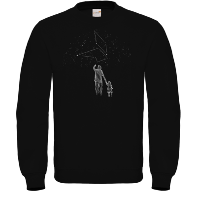 Motiv: Sweatshirt FAIR WEAR - fuchsklang star sign / father & son