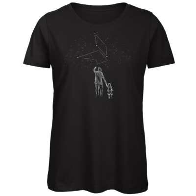 Motiv: Organic Lady T-Shirt - fuchsklang star sign / father & son
