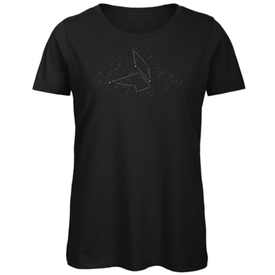 Motiv: Organic Lady T-Shirt - fuchsklang logo - star sign