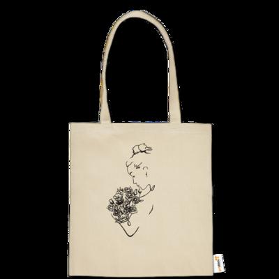 Motiv: Baumwolltasche - Women w/ Flower's