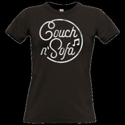 Motiv: T-Shirt Damen Premium FAIR WEAR - Couch und Sofa
