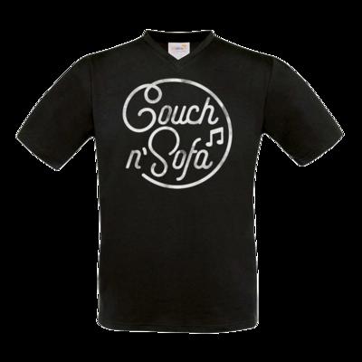 Motiv: T-Shirt V-Neck FAIR WEAR - Couch und Sofa