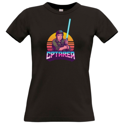 Motiv: T-Shirt Damen Premium FAIR WEAR - Logo mit Sonne