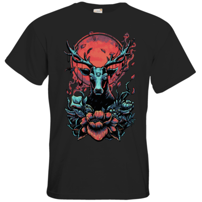 Motiv: T-Shirt Premium FAIR WEAR - Cursed Cervid
