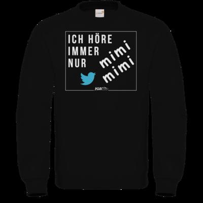 Motiv: Sweatshirt FAIR WEAR - mimimimi