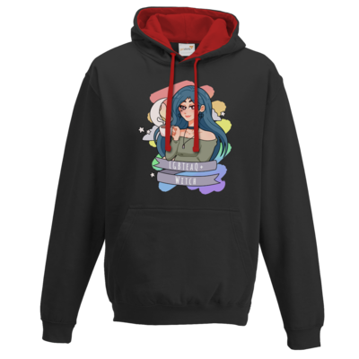 Motiv: Two-Tone Hoodie - LGBTeaQ Witch