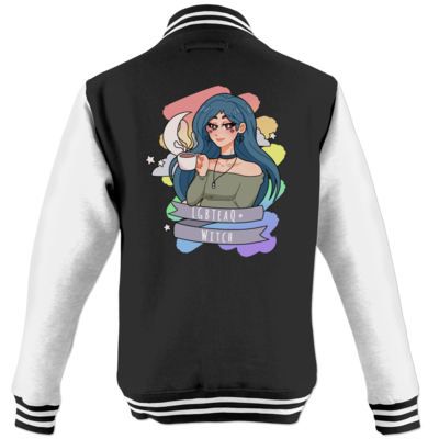 Motiv: College Jacke - LGBTeaQ Witch