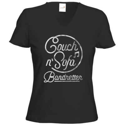 Motiv: T-Shirts Damen V-Neck FAIR WEAR - CnS - Bandretter