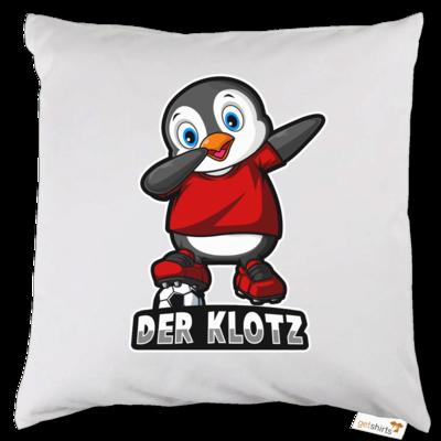 Motiv: Kissen - DerKlotz Logo