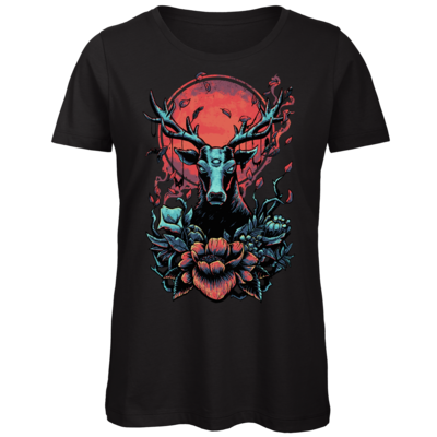 Motiv: Organic Lady T-Shirt - Cursed Cervid