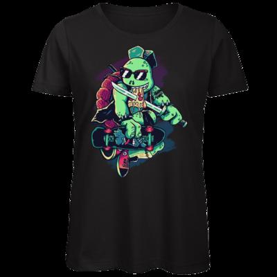 Motiv: Organic Lady T-Shirt - Cowabunga or Die!