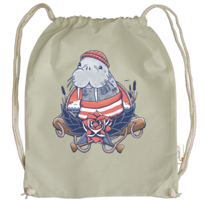 Motiv: Cotton Gymsac - Sailor Walrus
