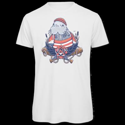 Motiv: Organic T-Shirt - Sailor Walrus