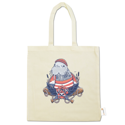 Motiv: Baumwolltasche - Sailor Walrus