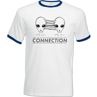 Motiv: T-Shirt Ringer - Connection