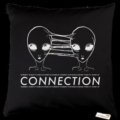 Motiv: Kissen Baumwolle - Connection