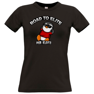 Motiv: T-Shirt Damen Premium FAIR WEAR - Road to Elite