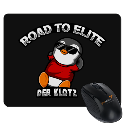 Motiv: Mousepad Textil - Road to Elite
