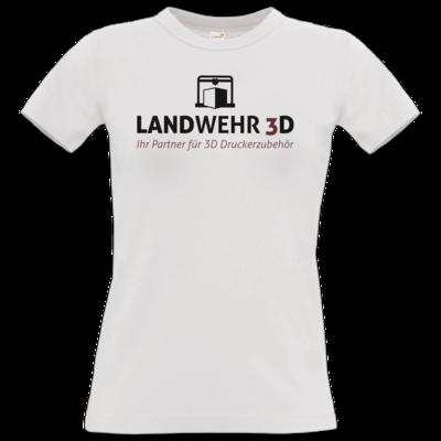 Motiv: T-Shirt Damen Premium FAIR WEAR - Logo Landwehr 3D