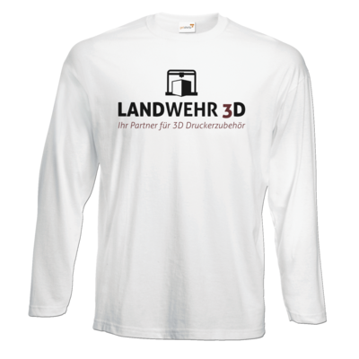 Motiv: Exact 190 Longsleeve FAIR WEAR - Logo Landwehr 3D