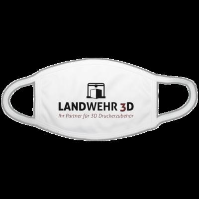 Motiv: Gesichtsmaske - Logo Landwehr 3D